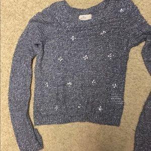 Hollister embellished sweater